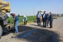 CEYLANPINAR - Kırsal Yollarda Onarım Çalışmaları Devam Ediyor