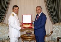 SADRAZAM - KKTC Cumhurbaşkanı Akıncı, TSK Temsilcisi Oramiral Kösele'yi Kabul Etti