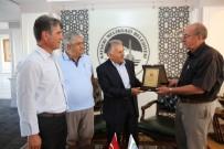 MIMARSINAN - Mahalle Muhtarlarından Başkan Büyükkılıç'a Plaketli Teşekkür Ziyareti