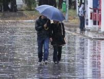 DOLU YAĞIŞI - Meteoroloji yine uyardı