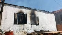 ÇAMKÖY - Milas'ta Bir İkamette Çıkan Yangın, Evi Küle Çevirdi