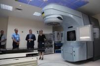 SİVAS VALİSİ - Sivas Numune Hastanesine 10 Milyon TL Değerinde Kanser Cihazı.