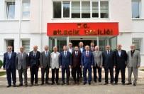 DEMOKRAT PARTI - Siyasi Parti İl Başkanlarından Vali Büyükakın'a Ortak Ziyaret