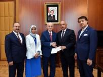 TÜRKIYE BÜYÜK MILLET MECLISI - TBMM Başkanı Kahraman'a 23 Temmuz Daveti