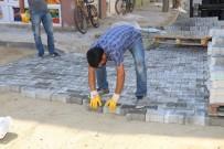 Turgutlu'da Cadde Ve Sokaklarda Parke Taşı Seferberliği