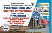 OKUMA SALONU - Türkiye'nin Yurt Garantili Tek Devlet Üniversitesi Kayseri'de