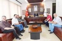 Uşak Valisi Salim Demir Gazetecileri Ağırladı