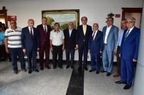 ESNAF VE SANATKARLAR ODASı - Vali Erin Oda Ve Dernek Başkanları İle Bir Araya Geldi