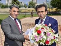 HASAN BASRI GÜZELOĞLU - Vali Güzeloğlu, DTB Başkanı Yeşil'den Brifing Aldı