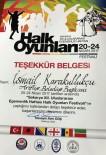 İSMAİL KARAKULLUKÇU - Ziya Cevherli'den Başkan Karakullukçu'ya Teşekkür Belgesi