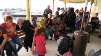 KÜÇÜKKUYU - Ayvacık'ta 41 Kaçak Göçmen Yakalandı