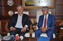 KARS VALİLİĞİ - Bakan Arslan, İlçe Başkanlarına Yapılan Saldırıları Kınadı