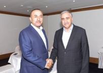 ABDURRAHMAN BULUT - Bakan Çavuşoğlu İle KKTC Cumhurbaşkanı Akıncı Görüştü
