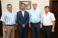 YAKIN TAKİP - Eskişehir Kültür Ve Dayanışma Derneğinden Başkan Kurt'a Ziyaret