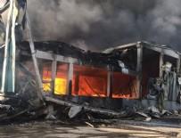 BOYA FABRİKASI - Çerkezköy'de fabrikada yangın!