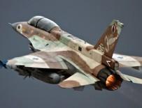 GOLAN TEPELERİ - İsrail Suriye'yi vurdu