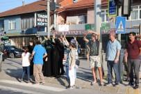 ESENTEPE - Kocaeli'nde Adalet Yürüyüşü Tepkisi