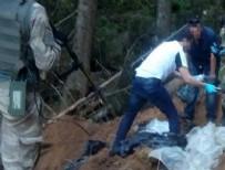 Şehit askerlerin kayıp silahları 11 ay sonra bulundu