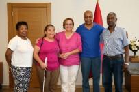 NITELIK - Afro-Türkler Pekdaş'a Konuk Oldu