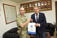 TUGAY KOMUTANI - Albay Dere Başkan Çerçi'yi Ağırladı