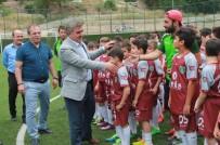 BELEDİYESPOR - Amasya Belediyespor'dan 200 Çocuğa Futbol Eğitimi