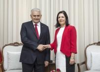 BAŞBAKAN - Başbakan Yıldırım, KKTC Meclis Başkanı Siber İle Görüştü