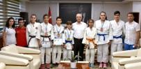 BELEDİYESPOR - Başkan Kayda, Judocuları Ödüllendirdi
