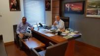 ŞABAN DİŞLİ - Başkan Yılmazer Milletvekillerini Ziyaret Etti