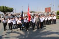 BODRUM KAYMAKAMI - Bodrum'da Kıbrıs Barış Harekatı'nın 43. Yıl Anma Töreni