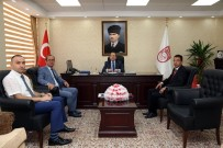 ALİ HAMZA PEHLİVAN - Bölge Müdürlerinden Vali Pehlivan'a Ziyaret