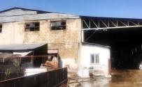BEYLERBEYI - Çırçır Fabrikasında Çıkan Yangında Tonlarca Pamuk Kül Oldu