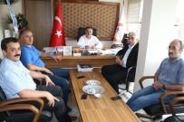 BATı KARADENIZ - Demirci'den MTA Bölge Müdürüne 'Hayırlı Olsun' Ziyareti
