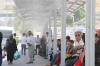 TOPLU TAŞIMA - Duraklarda Buhar Sistemi Faaliyete Geçti