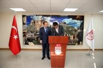 ALİ HAMZA PEHLİVAN - Erzincan Valisi Arslantaş Ve Gümüşhane Valisi Memiş'den Bayburt Valisi Pehlivan'a Ziyaret
