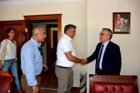 YıLMAZ ŞIMŞEK - Gazetecilerden Vali Şimşek'e Ziyaret