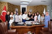 FARKıNDALıK - KAR-MEK'ten Başkan Üzülmez'e Ziyaret