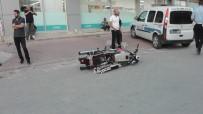 FATIH SULTAN MEHMET - Kulu'da Kaza Yapan Sürücü Motosikletini Bırakıp Kaçtı
