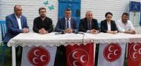 MUSTAFA GÜLER - MHP Yeni Yönetimi Bir Araya Geldi
