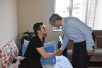 UZMAN ÇAVUŞ - Nazilli Protokolü Gazi Ali Gezer'i Ziyaret Etti