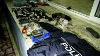 ETILER - Gaziantep'te Operasyon Düzenlenen Evin Kaçak Silah İmalathanesi Olduğu Ortaya Çıktı