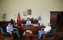 REKTÖR - Rektör Prof. Dr. Çoşkun'dan AÜ'ye Ziyaret