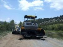 SİNEMA SALONU - Şaphane'de Yol Çalışmaları