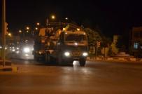 ASKERİ SEVKİYATI - Suriye sınırına obüs topu sevkıyatı