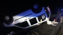 NAMIK KEMAL - Suriyelileri Taşıyan Araç Takla Attı Açıklaması 9 Yaralı