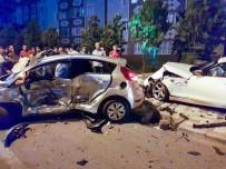 KAPAKLı - Tekirdağ'da Feci Kaza Açıklaması 1 Ağır Yaralı
