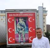 ABDULLAH ÖZER - Tunceli'de Türk Bayrağı Asarken Teröristlerin Taciz Ateşine Uğrayan Abdullah Özer O Anları Anlattı