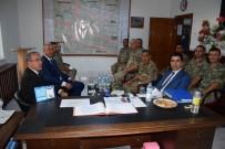 Vali Toraman 7 Askerin Şehit Düştüğü Şehitlik Anıtını Ziyaret Etti