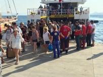 İSTANKÖY - 180 Kişi Daha Kos Adası'ndan Bodrum'a Geldi
