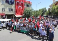 CUMA NAMAZI - Adıyaman'da Mescid-İ Aksa Protestosu