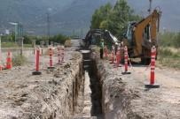 ALANYURT - Akşehir'in Mahallelerine Yeni Kanalizasyon Şebekesi